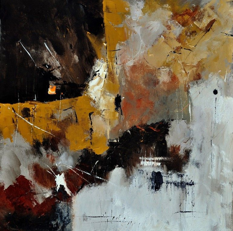 "Saatchi Online Artist: Pol Ledent; Oil, 2013, Painting ""abstract 77313052"""