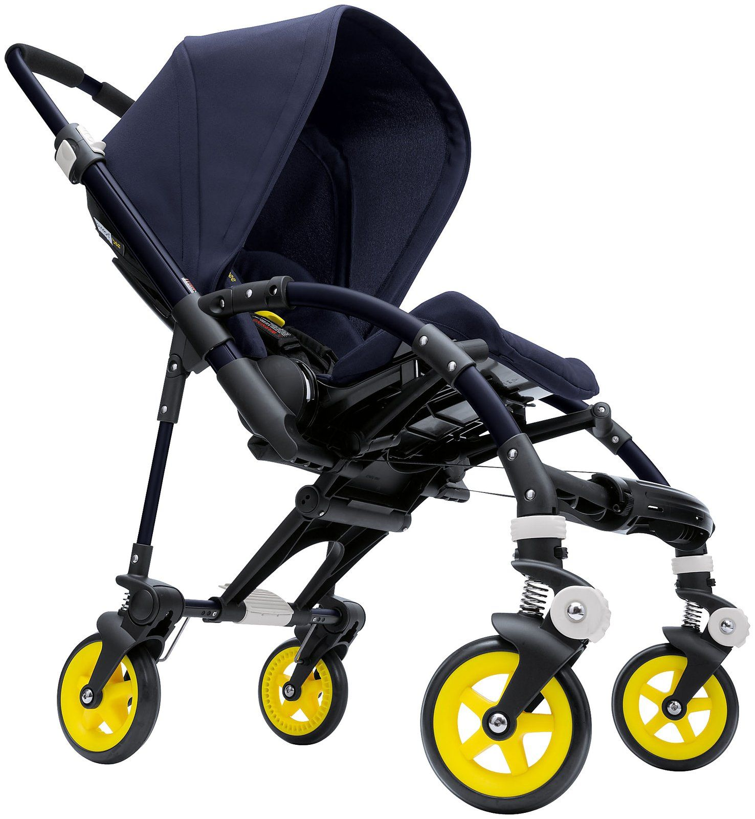 Bugaboo Pram Yellow Bugaboo Bee Stroller Neon Special Collection Blue Yellow