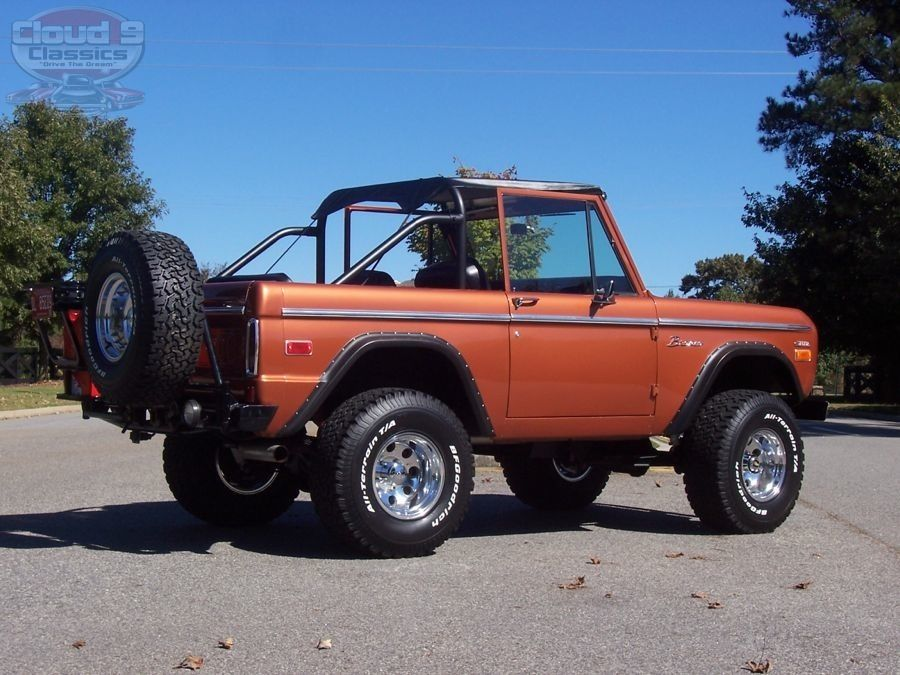 Image result for copper paint ford bronco convertible