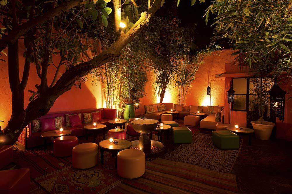 Moroccan restaurant in Marrakech The Patio Comptoir