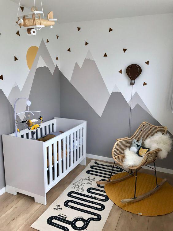 Como Pintar Paredes Habitacion Para Bebes Varones Decorar Habitacion Bebe Decoracion Habitacion Bebe Varon