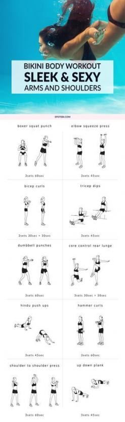 Fitness workouts arms upper body for women 29 best Ideas #fitness