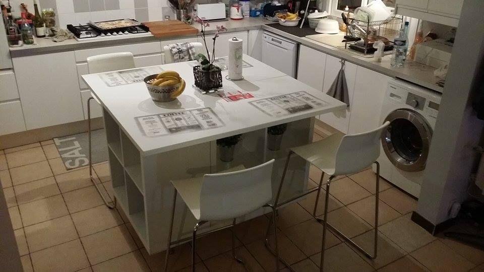 Un ilot de cuisine moderne pas cher Ikea furniture hacks, Room