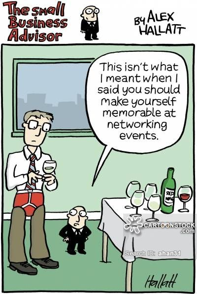cartoons on business networking - Google Search | Business ...