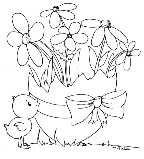 If you want to print the Printable Easter Coloring Pages For Kids ...