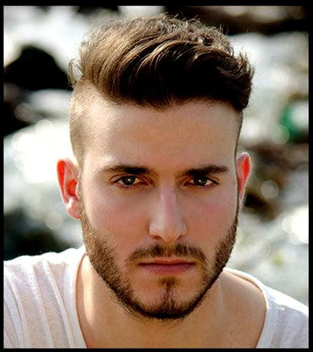 Mens Hairstyles Round Faces Mohawk Style