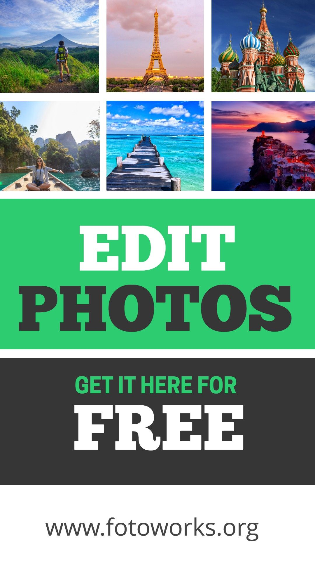 With Fotoworks XL it is very easy to edit photos.