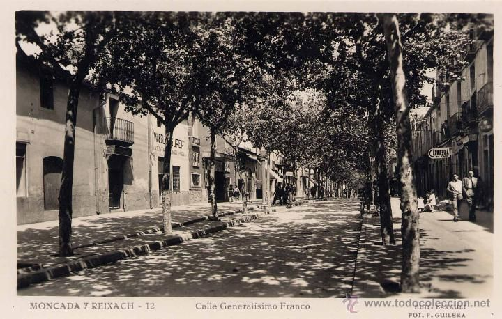 Moncada I Reixach Barcelona Calle Generalisimo Franco Fotos Barcelona Calle