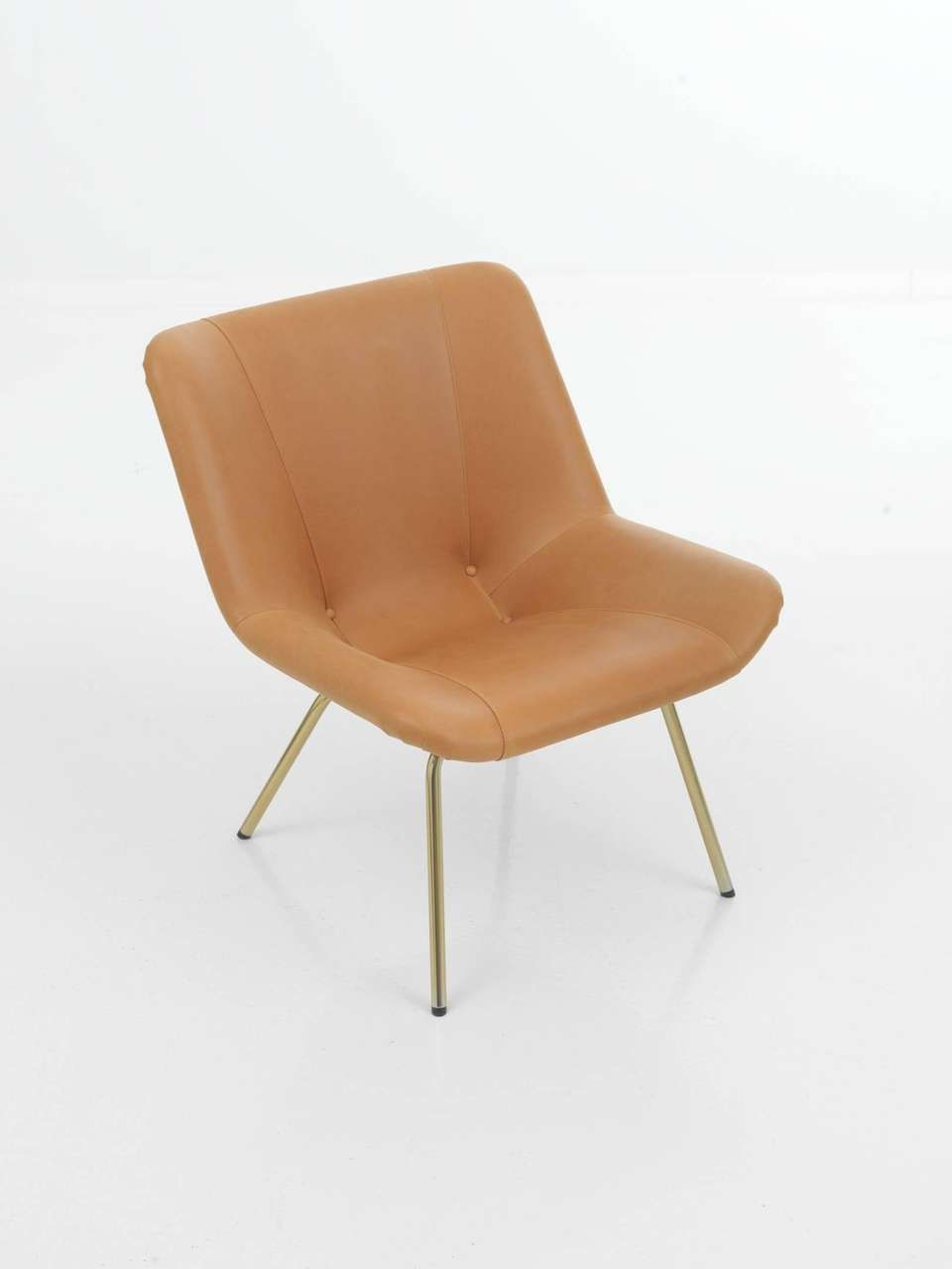For sale on 1stdibs the lehti chair combines an upholstered seat with legs of metal tubing although it was designed already in 1956 this chair is of
