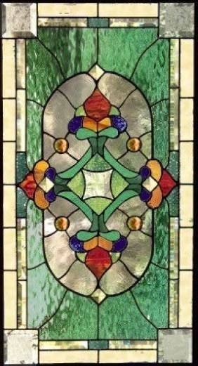 Image Result For Tulip In Vase Pattern Stained Glass Transoms