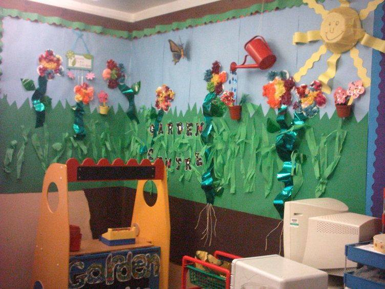 garden cenre display classroom display class display garden area flowers - Garden Design Ks2