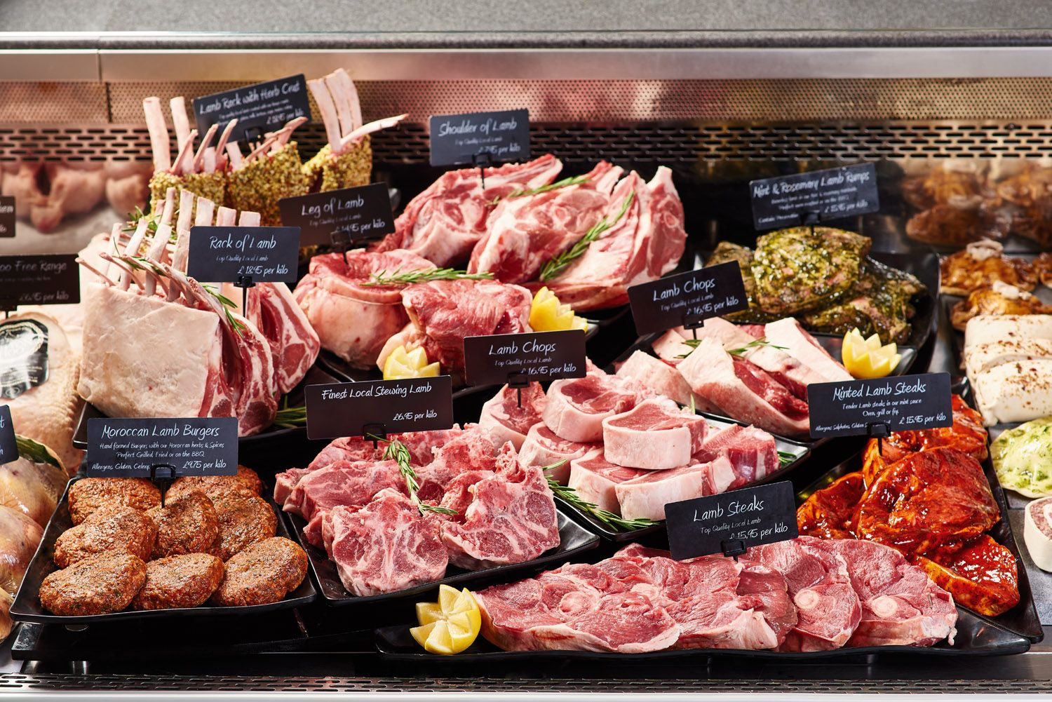 Using Dalebrook Platters In A Butcher Display Counter