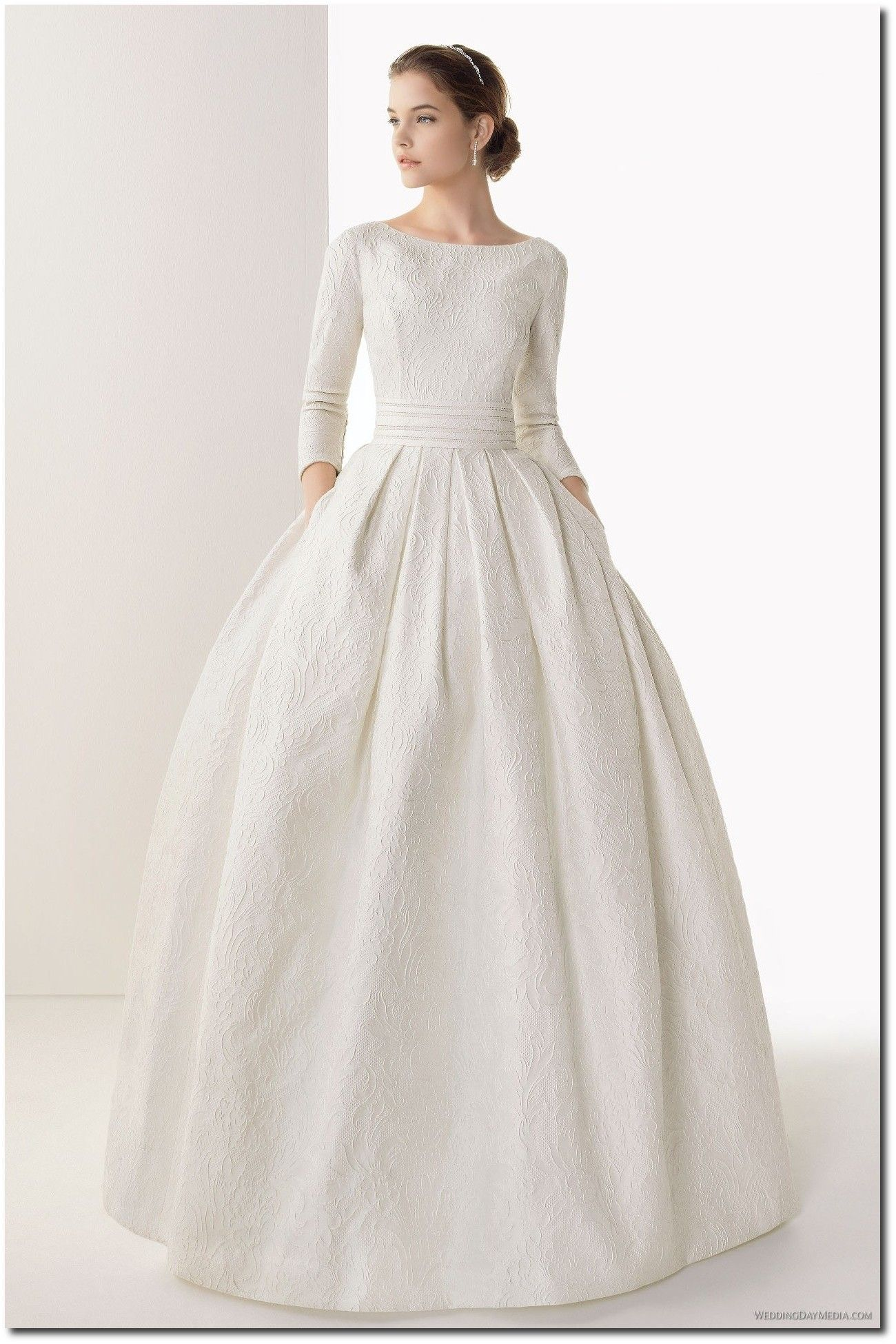 Raw silk dress google search white dress pinterest silk modern classy and conservative white quarter sleeved wedding dress ombrellifo Images