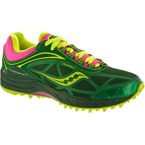 Im digging the colors. Saucony Peregrine 3 Lady GreenPink