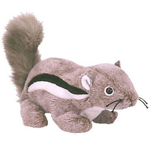 7a0ea319cac TY Beanie Baby - CHIPPER the Chipmunk (6.5 inch)