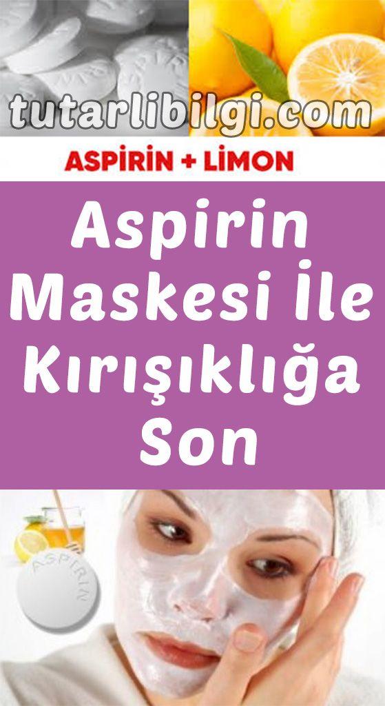 Aspirin Maskesi İle Kırışıklığa Elveda #ciltbakımı