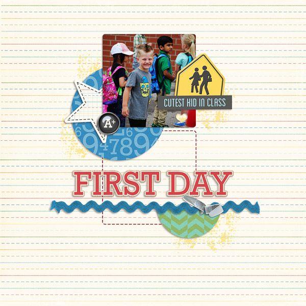 Little Learner  Calendar Countdown templates by Peppermint Creative
