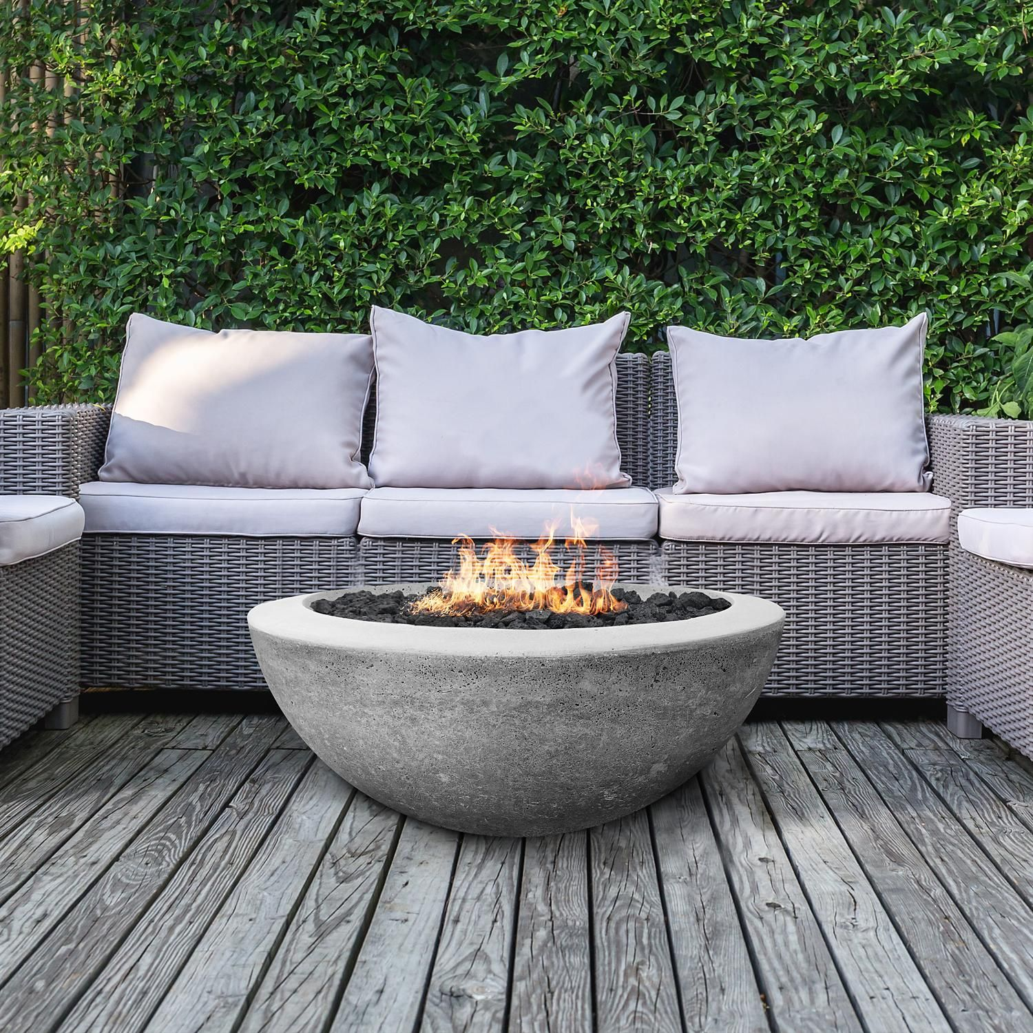 Madrid 30 Fire Bowl Propane Tank Enclosure Sam S Club In 2020 Fire Bowls Fire Pit Outdoor Fire