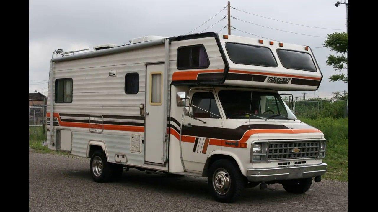 1981 Chevrolet Chevy G30 Sport Van Travelcraft Motorhome Rv Slideshow In 2020 Chevrolet Van Chevy Van Recreational Vehicles