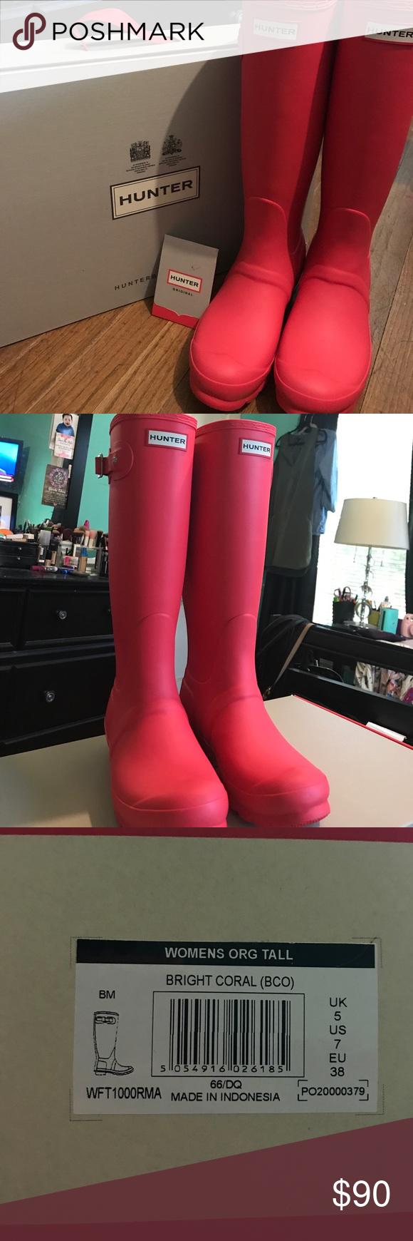 Women's Hunter Original Tall Rain Boots Size: US 7 Color ...