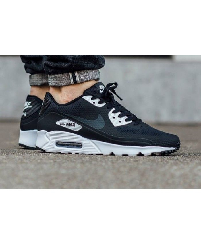 finest selection e2340 30896 Nike Air Max 90 Ultra Essential Black Anthracite White Shoes Style is now  very hot type
