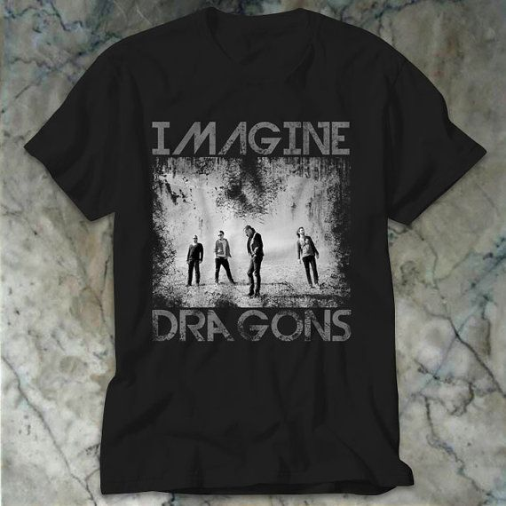 Imagine Dragons Classic Design Men TShirt Size Print by BLUOES, $17.99