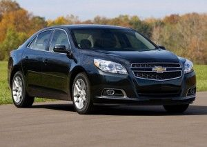 2013 chevy malibu black