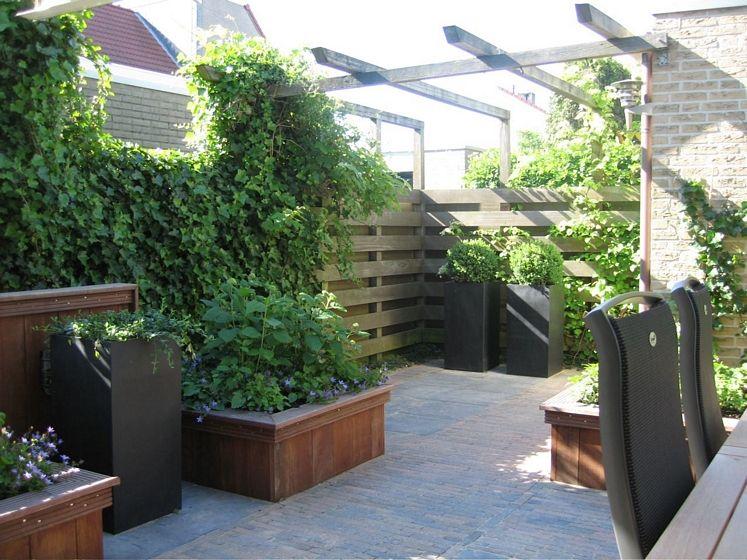 Knusse kleine tuin tuin pinterest tuin tuin idee n en tuinen - Tuin ontwerp tijdschrift ...