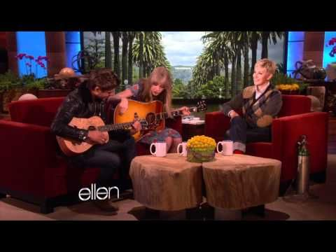 Taylor Swift and Zac Efron Sing a Duet!...probably on my top 10 ellen videos