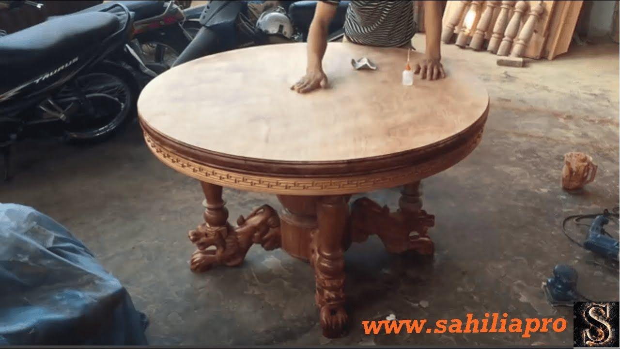تقنيات ومهرات النجارة المذهلة طاولة طعام مستديرة Dining Table Decor Home Decor
