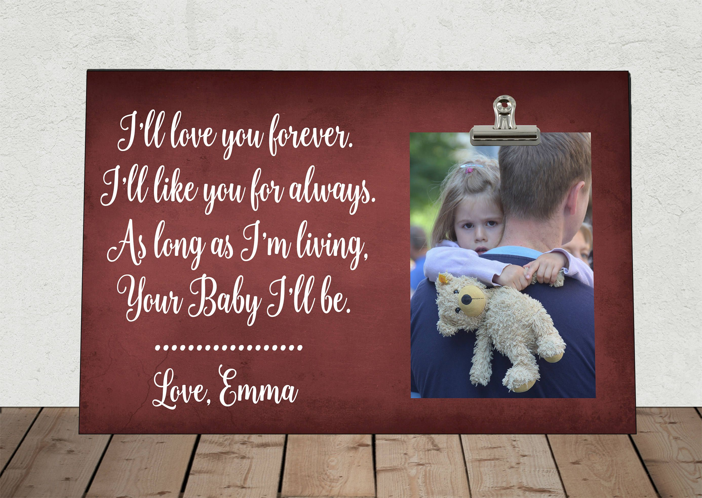 I\'ll LOVE you forever I\'ll like you for ALWAYS, Personalized Free ...