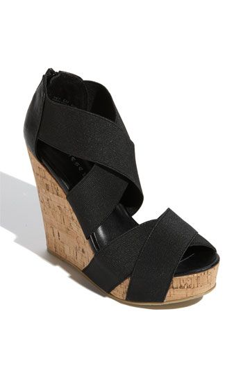 Chinese Laundry Dig It Wedge Sandal Wedges Wedge Sandals Black Wedge Sandals