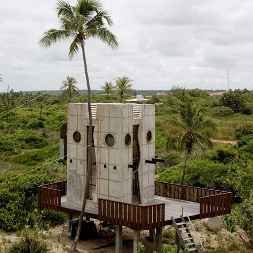 Bahia House in Brazil by Gaetano Pesce - Strange Houses, Weird ...