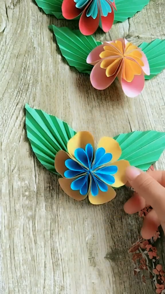 Handmade Origami Butterfly Process Video Tuto Butterfly