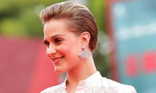 Elegant wedding hairstyles for short hair