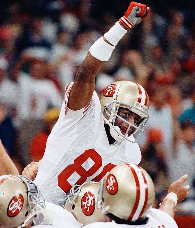 jerry rice 2010 NFL Hall of Fame Class WR Jerry Rice