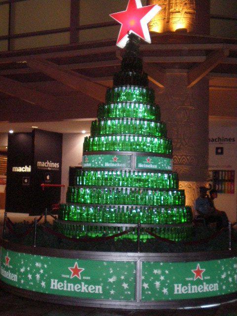 Heineken - Christmas Tree by MiyukiSasaki   Heineken   Pinterest ...