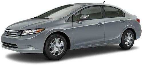 2012 Honda Civic Hybrid   Hybrid Sedan $24,050 Get A Car