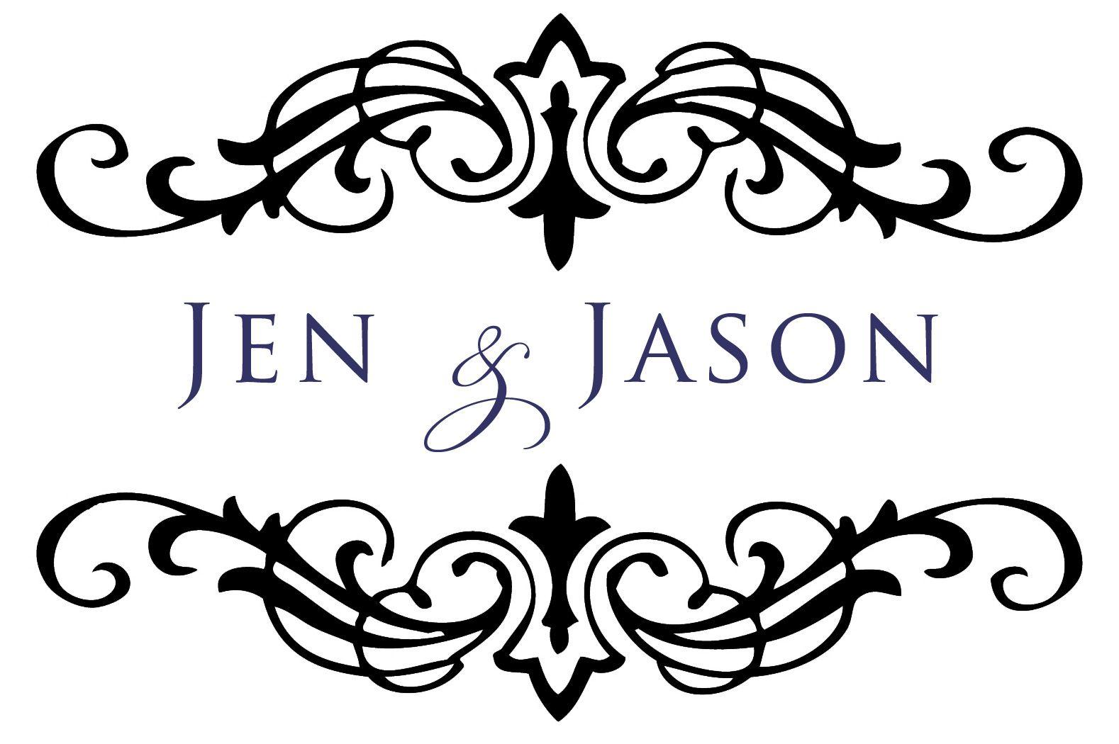 Flourish Wedding Monogram | San Diego Child & Family ...