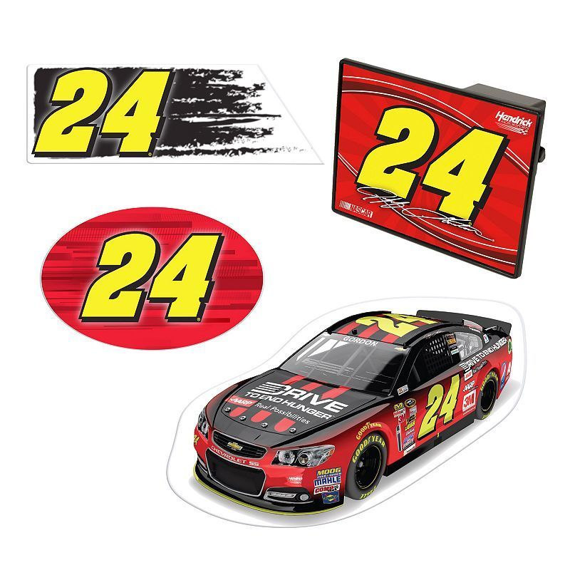 Jeff Gordon 4-Piece Vehicle Pack, Multicolor