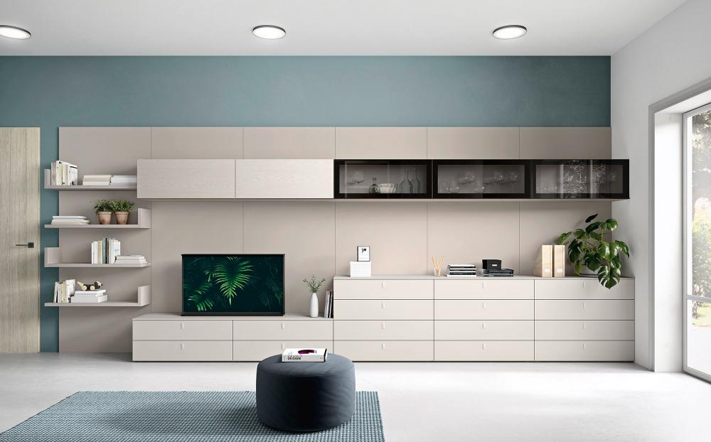 Grote Kast Eetkamer.Tv Wandcombinatie Op Maat Gero Cinquanta Design Kast