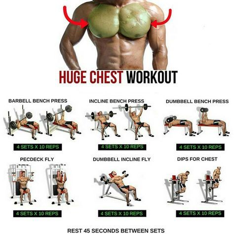 Chest Bodybuilding Workout At Home