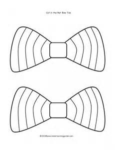 Cat In The Hat Bow Tie Coloring Pages By Steven Dr Seuss Crafts