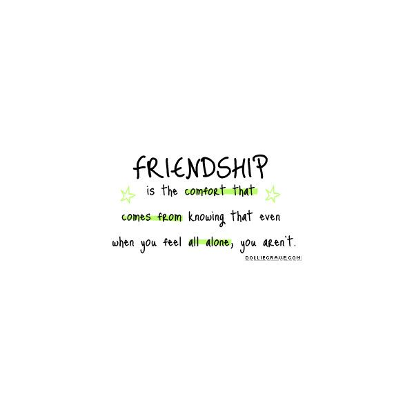 Friendship Quotes, Cute Friendship Quotes Found On Polyvore