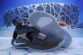 070f4cc86c9 Paul George Nike PG 2. 5 Navy Blue Black Multi-Color Men s Basketball Shoes