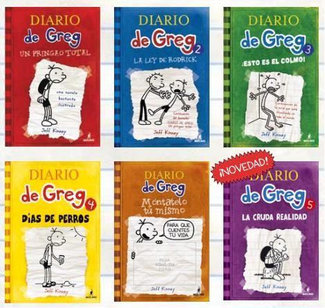 La Colección Completa Por El Momento De Diario De Greg Libros Para Niños A Partir De 10 Años Libros Para Niños Animacion A La Lectura El Diario De Greg