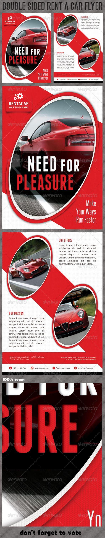 Rent A Car Corporate Flyer 03 – Car Flyer