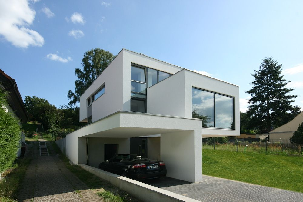Moderne h user neubau for Moderne architektur villa