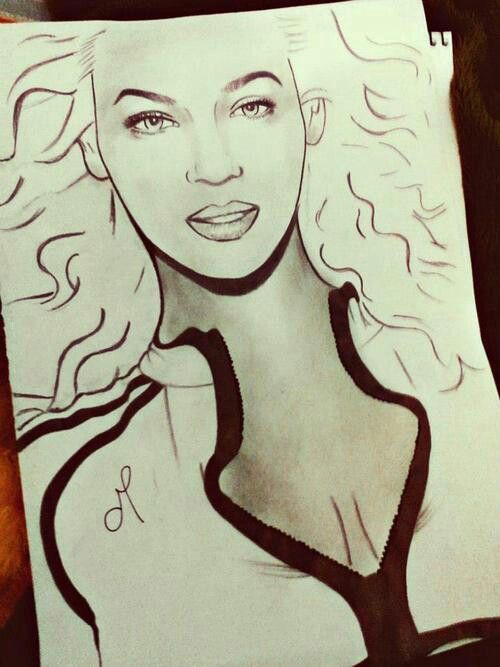 Beyonce drawing | Beyoncé | Pinterest | Drawings