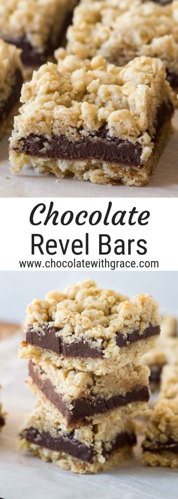 Chocolate Revel Bars Chocolate With Grace Recipe Revel Bars Recipe Condensed Milk Recipes Chocolate Oatmeal
